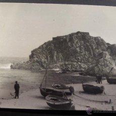 Fotografía antigua: BLANES PLAYA. FOTOGRAFIA DE 10 X 7 DEL AÑO 1964. Lote 41559256