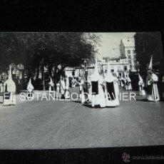 Fotografía antigua: SEMANA SANTA SEVILLA, FOTOGRAFIA DE 18X12 CM - CRUZ DE GUIA - HDAD DE LOS NEGRITOS. Lote 41762335