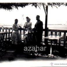 Fotografía antigua: SANTURCE, BILBAO, 1957, VISTAS, PRECIOSA,86X62MM. Lote 42192640