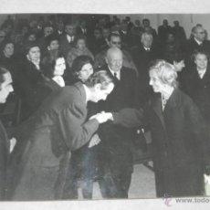 Fotografía antigua: FOTOGRAFIA DE DOÑA CARMEN POLO DE FRANCO . MIDE 24 X 18 CMS.. Lote 42241008
