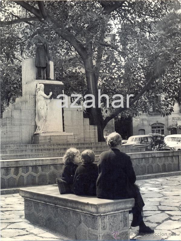 PALMA DE MALLORCA,1962, PLAZA DEL MERCAT, IMPRESIONANTE,180X240MM,FOT,PLANAS (Fotografía Antigua - Fotomecánica)