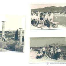 Fotografía antigua: 3 - FOTOGRAFÍAS DE GIRONA - AGOSTO 1960 - AMPURIAS – LLAFRANC – ESTARTIT. Lote 42352444