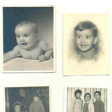 Fotografía antigua: 18 - FOTOGRAFÍAS DE NIÑOS - ALGUNAS FECHADAS 1957 – 1946. Lote 42373017