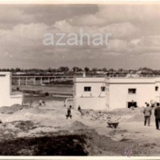 Fotografía antigua: JEREZ DE LA FRONTERA, 1954, ESTACION DEPURADORA,175X115MM. Lote 42425723