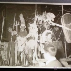 Fotografía antigua: SEU D'URGELL. CAVALGATA DE FIESTA DE SANTO TOMAS DE AQUINO(FIESTA ESTUDIANTES) DEL AÑO 1962.FOTO 3. Lote 42431853