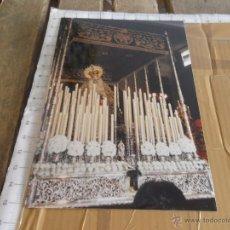 Fotografía antigua: FOTO FOTOGRAFIA DE LA SEMANA SANTA DE SEVILLA HERMANDAD DE LAS CIGARRERAS. Lote 42750909