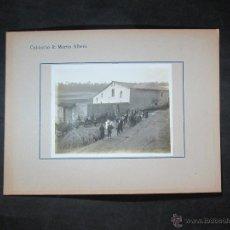 Fotografia antica: SANTA EULÀLIA DE RONÇANA. MASIA DE PALAUDÀRIES. 1932. Lote 42852666
