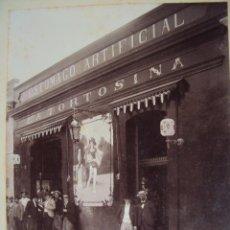 Fotografía antigua: (FOT-440)FOTOGRAFIA COMERCIO LA TORTOSINA,ESTOMAGO ARTIFICIAL. Lote 42931017