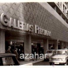 Fotografía antigua: SEVILLA, AÑOS 60, GALERIAS PRECIADOS,105X75MM. Lote 42950857