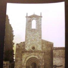 Fotografía antigua: SANTA MARIA DE PORQUERES (ZONA DE BANYOLES) FOTOGRAFIA DE 7,5 X 10,5 CM. DEL AÑO 1960. Lote 42956248