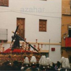 Fotografía antigua: SEMANA SANTA DE SEVILLA, PASO DE CRISTO HERMANDAD DE LA CANDELARIA,150X102MM. Lote 43097957