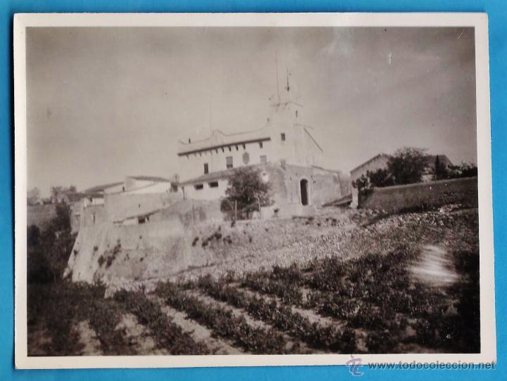 FOTOGRAFIA - ++¿LA RECONOCE? ++ ERMITA, IGLESIA, MONASTERIO - SIN + DATOS - AÑO 60 - RD4 (Fotografía Antigua - Fotomecánica)