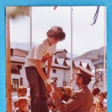 Fotografía antigua: FOTOGRAFIA - ++¿LA RECONOCE? ++ RALLYE INT. NOGUERA PALLARESA - ENTREGA PREMIOS - AÑO 1978 - RD4. Lote 43229107