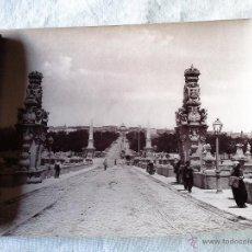 Fotografía antigua: FOTOGRAFÍA DEL PUENTE DE TOLEDO. MADRID. HAUSER Y MENET. COMISARÍA REGIA DEL TURISMO EN ESPAÑA.. Lote 43355983