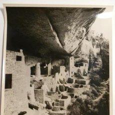 Fotografía antigua: FOTOGRAFIA DEL PALACIO DE LA ROCA-PHOTO LAB.USIS-AÑOS 60. Lote 43390805