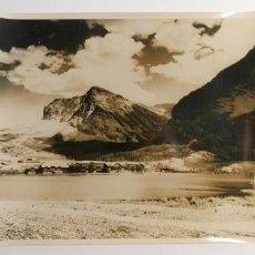 Fotografía antigua: FOTOGRAFIA DEL HOTEL GLACIAR, MONTANA-PHOTO LAB.USIS-AÑOS 60. Lote 43390893