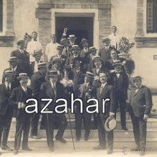 Fotografía antigua: SEVILLA, CIRCA 1920,GRUPO DE AMIGOS EN LA VENTA DE ANTEQUERA, FOT.SANCHEZ DEL PANDO,110X76MM. Lote 43476880