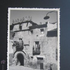 Fotografía antigua: FOTOGRAFÍA GUADALAJARA. UNA CASA SEÑORIAL DE SIGÜENZA. AÑO 1959. . Lote 43509068