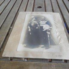 Fotografía antigua: ANTIGUA FOTO DE CABALLERO MAESTRANTE DE LA MAESTRANZA DE CABALLERIA DE SEVILLA. Lote 43643783