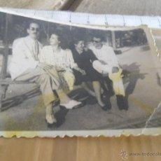Fotografía antigua: ANTIGUA FOTO EN EL PARQUE . Lote 43743860