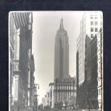 Fotografía antigua: FOTOGRAFIA ANTIGUA DE NUEVA YORK. EMPIRE STATE. 13 X 18CM.. Lote 44038689