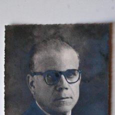 Fotografía antigua: FOTOGRAFIA RETRATO ORIGINAL DEL PINTOR DE CASTELLON, JUAN PASCUAL GIMENO. Lote 44106047