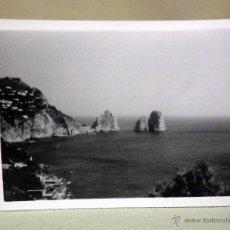 Fotografía antigua: FOTOGRAFIA, ITALIA, CAPRI, 10 X 7 CM. Lote 44266730