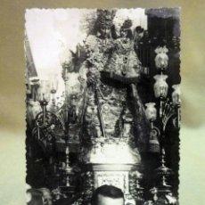Fotografía antigua: FOTOGRAFIA, LA VIRGEN, VALENCIA, TROQUELAD. Lote 44280538