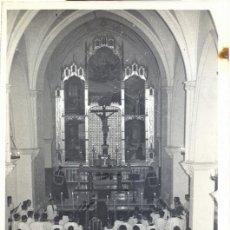 Fotografía antigua: POSADAS, CORDOBA,1963, MISA FUNERAL POR JUAN XXIII, FOT.MORENO,87X132MM. Lote 44305329