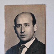 Fotografía antigua: FOTOGRAFIA RETRATO ORIGINAL DEL PINTOR DE IGUALADA, FRANCESC CAMPS DALMASES. Lote 44324812