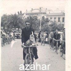 Fotografía antigua: ALMENDRALEJO, BADAJOZ, 1952, RECUERDO DIA DEL DOMUND,62X80MM, MUY RARA. Lote 44339952