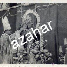 Fotografía antigua: VILLARRASA, HUELVA,1954, CORONACION NTRA.SRA.DE LOS REMEDIOS,118X85MM. Lote 44394258