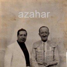 Fotografía antigua: JEREZ DE LA FRONTERA,1940, LOTE TRES FOTOGRAFIAS, TORERO EL SARDINA, RARISIMAS. Lote 44445426