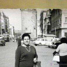 Fotografía antigua: FOTOGRAFIA ANTIGUA, VALENCIA, CALLE GUILLEN DE CASTRO, TORRES DE QUARTE, 1960S. Lote 44465064