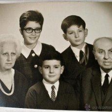 Fotografía antigua: FOTOGRAFIA FAMILIAR ORIGINAL DE PEDRO LLABRES SANCHO DE LA JORDANA + DATOS BIOGRAFICOS. Lote 44892056