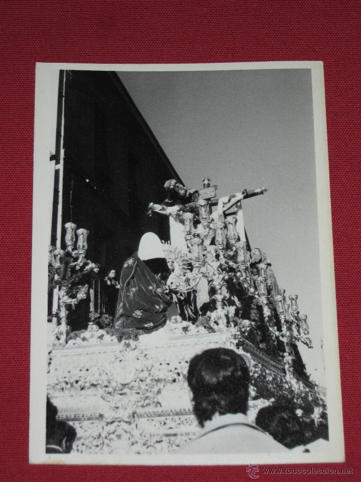 SEMANA SANTA SEVILLA - FOTOGRAFIA DE 9X12 CMS DEL CRISTO DE LAS CINCO LLAGAS - HDAD TRINIDAD (Fotografía Antigua - Fotomecánica)