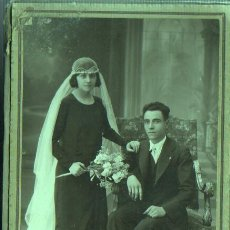 Fotografía antigua: FOTO DIPTICA CON TAPA DEL FOTOGRAFO DE BARCELONA JOSÉ ALONSO - SALON SAN JUAN, 133. Lote 45709244