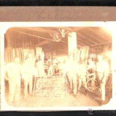Fotografía antigua: ANTIGUA FOTOGRAFIA DEL TALLER DE BENITO BARROS FREIJEIRO. HABANA, CUBA. 22 X 16CM.. Lote 45811007