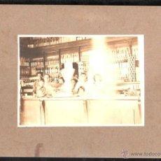 Fotografía antigua: CUBA. FOTOGRAFIA DE UN COLMADO. 25 X 21CM.. Lote 45826767
