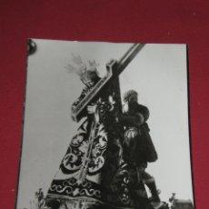 Fotografía antigua: FOTOGRAFIA DE NTRO PADRE JESUS DE MARTINEZ MONTAÑEZ - MORON - QUEMADA EN 1936 - 18X24 CMS. Lote 45896928
