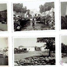 Fotografía antigua: PS5108 LOTE DE 56 FOTOGRAFÍAS DE BALEARES. 9 * 6 CM. FIN. AÑOS 40 / PRINC. AÑOS 50. Lote 45977122