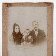 Fotografía antigua - Foto de Familia. Fotógrafo Fernández y González. Madrid. - 46133615