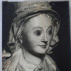 Fotografía antigua: GRAN FOTOGRAFIA DE JERONIMO JUAN TOUS. TALLA EXPUESTA EN ALGUN MUSEO - PALMA DE MALLORCA. Lote 46216895