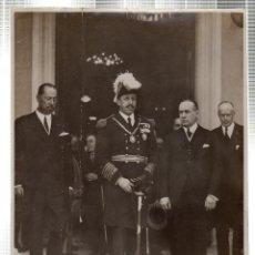 Fotografía antigua: FOTOGRAFIA DE S.M. EL REY DE ESPAÑA DON ALFONSO XIII EN LA EXPOSICION IBERO-AMERICANA. CUBA.. Lote 46246389