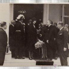Fotografía antigua: FOTOGRAFIA DE S.M. LA REINA DE ESPAÑA DOÑA VICTORIA EUGENIA EN LA EXPOSICION IBERO-AMERICANA. CUBA.. Lote 46246462