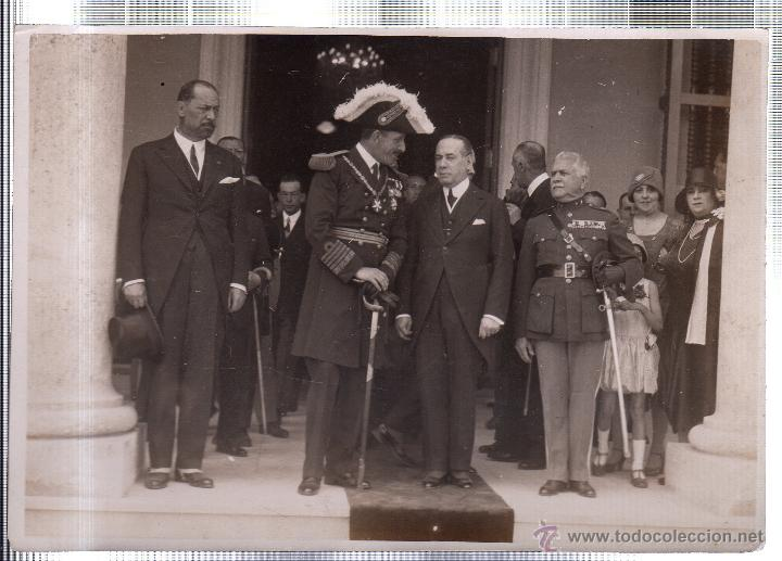 FOTOGRAFIA DE S.M. EL REY DE ESPAÑA DON ALFONSO XIII EN LA EXPOSICION IBERO-AMERICANA. CUBA. (Fotografía Antigua - Fotomecánica)