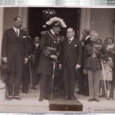 Fotografía antigua: FOTOGRAFIA DE S.M. EL REY DE ESPAÑA DON ALFONSO XIII EN LA EXPOSICION IBERO-AMERICANA. CUBA.. Lote 46246505