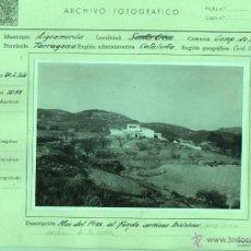 Fotografía antigua: FOTO AIGUAMURCIA SANTES CREUS TARRAGONA - UNIVERS. GEOLIGICA DE BARNA 1953. Lote 46365213