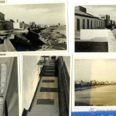 Fotografía antigua: CARTAGENA CABO DE PALOS BONITO CONJUNTO DE 6 FOTOS FINALES AÑOS 60 . Lote 46530194