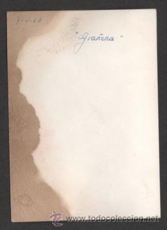 Fotografía antigua: (ALB-TC-23) ANTIGUA FOTO SEÑORA CON VESPA 1963 GRAÑENA LERIDA LLEIDA - Foto 2 - 46547273